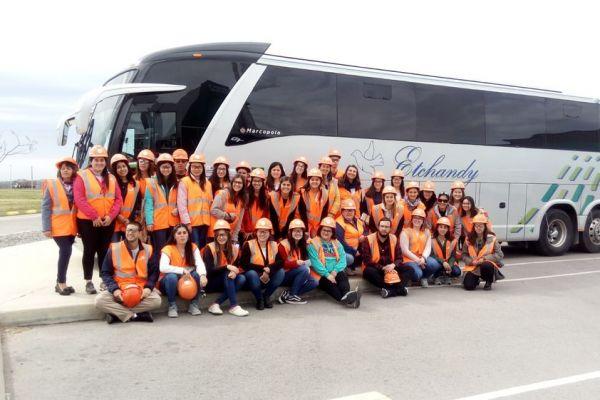 Delegación del IFD de Trinidad en la Planta Industrial de Montes del Plata.Colonia
